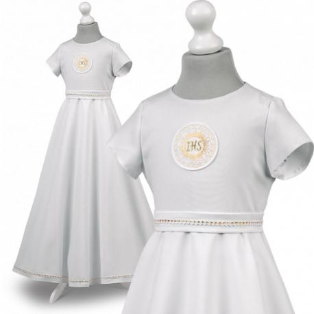 Sukienka komunijna alba Roksana 16ZL