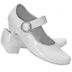 Buty komunijne dla dziewczynki Princesska lakierki OM904