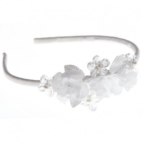 Opaska do włosów z kryształkami OW62