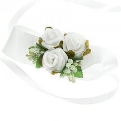 Bransoletki na rękę z kwiatuszkami jak żywe BR02