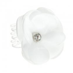 Przypinki do włosów kwiatuszek z cyrkonią WP04