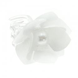 Przypinki do włosów kwiatuszek z perełką WP05