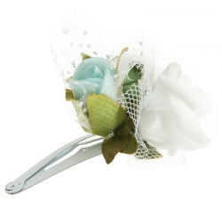 Spinka do włosów z kwiatuszkami jak żywe model SM03