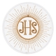 Hostia komunijna, EMBLEMAT IHS H09
