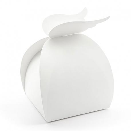 Pudełka - Skrzydła, biały, 8,5x14,5x8,5cm PUDCS17-008