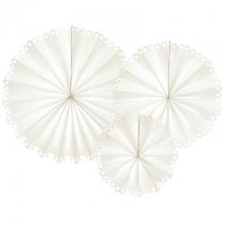 Rozety dekoracyjne, złamana biel RPK23-008Z