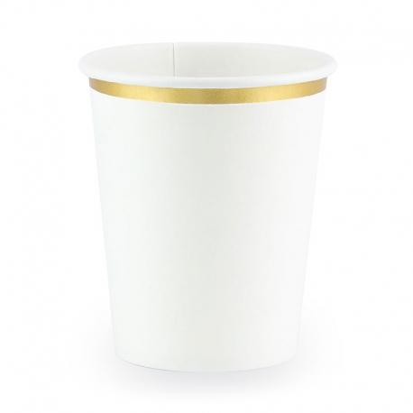 Kubeczki 260 ml białe KPP30-008