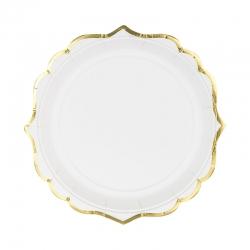 Talerzyki, białe, 18,5 cm TPP30-008