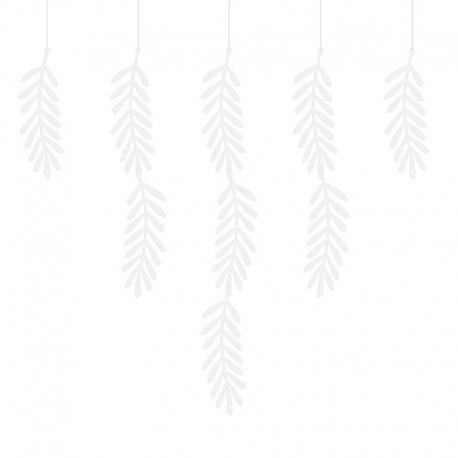 Girlanda Gałązki, biała, 1,8m GL5-008