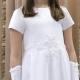 Sukienka komunijna alba Angelika 62BI rozmiar 146