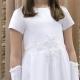 Sukienka komunijna alba Angelika 62BI rozmiar 152