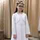 Sukienka komunijna Anastazja 72BI rozmiar 152