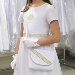 Sukienka komunijna Anastazja 25ZL rozmiar 134