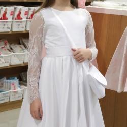 Sukienka komunijna Nelly 00BI rozmiar 134