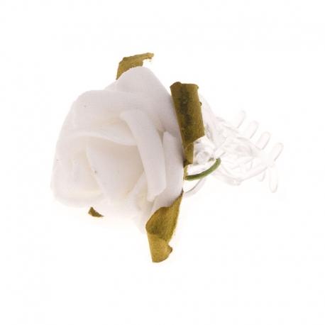 Spinka do włosów z kwiatuszkami jak żywe SM18