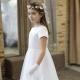 Sukienka komunijna Anastazja 60BI rozmiar 128