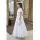 Sukienka komunijna alba Roksana 25ZL rozmiar 134
