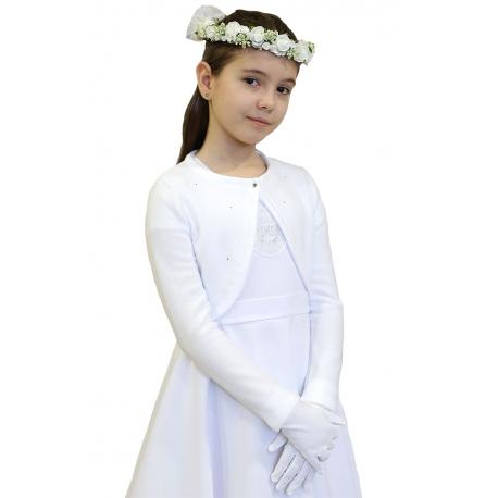 Sweterek komunijny dla dziewczynki PK08