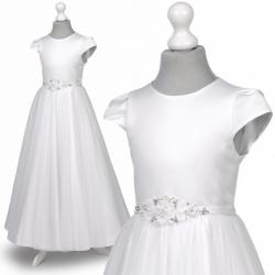 Sukienka komunijna Anastazja 91BI rozmiar 140