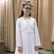 Sukienka komunijna Anastazja 91BI