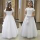 Sukienka komunijna Anastazja 60BI rozmiar 134