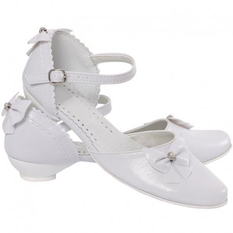 Buty komunijne dla dziewczynki OM717