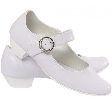 Buty komunijne dla dziewczynki Princesska OM902