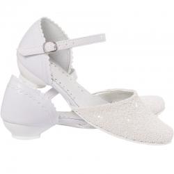 Buty komunijne dla dziewczynki MIKO OM167