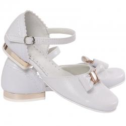 Buty komunijne dla dziewczynki MIKO OM672