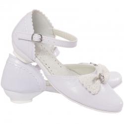 Buty komunijne dla dziewczynki MIKO OM715