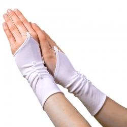Rękawiczki komunijne do Pierwszej Komunii Świętej RKC07