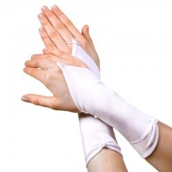 Rękawiczki komunijne do Pierwszej Komunii Świętej RKC09