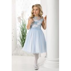 Sukienka dla dziewczynki niebieska RebeccaN