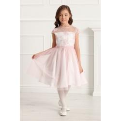 Sukienka dla dziewczynki różowa RebeccaR