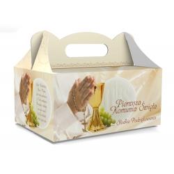 Pudełko na ciasto dla gości 5 sztuk 19x14x9cm. PDT04