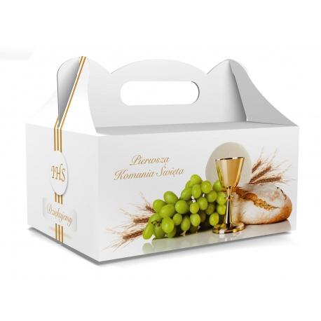Pudełko na ciasto dla gości 5 sztuk 19x14x9cm. PDT11