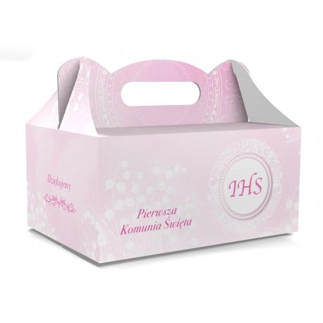 Pudełko na ciasto dla gości 5 sztuk 19x14x9cm. PDT14