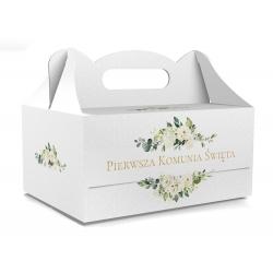 Pudełko na ciasto dla gości 5 sztuk 19x14x9cm. PDT20