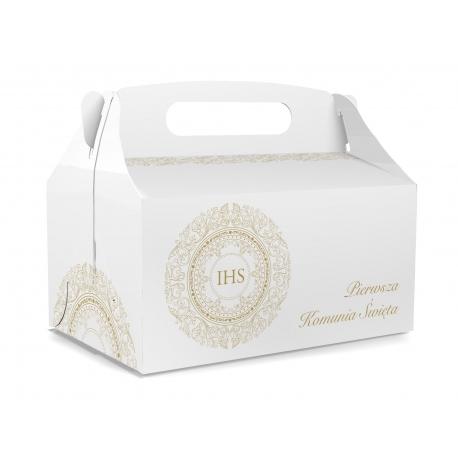 Pudełko na ciasto dla gości 5 sztuk 17x12x8,5cm. PDT12S