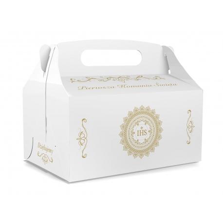 Pudełko na ciasto dla gości 5 sztuk 17x12x8,5cm. PDT17S