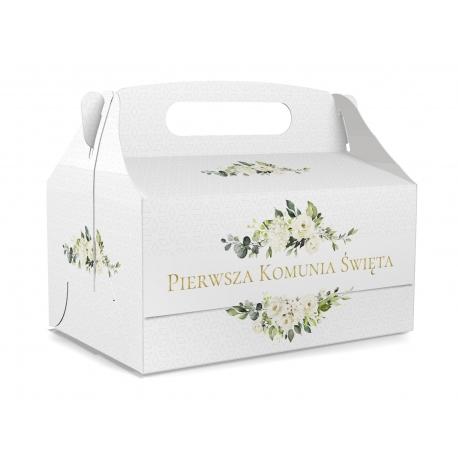 Pudełko na ciasto dla gości 5 sztuk 17x12x8,5cm. PDT20S