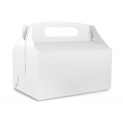 Pudełko na ciasto dla gości 5 sztuk 17x12x8,5cm. PDT00S
