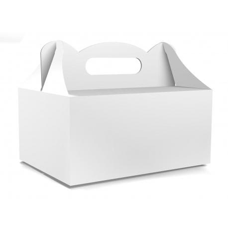 Pudełko na ciasto dla gości 5 sztuk 19x14x9cm. PDT00