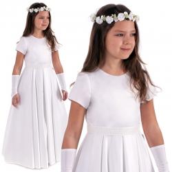 Sukienka komunijna alba Sisi