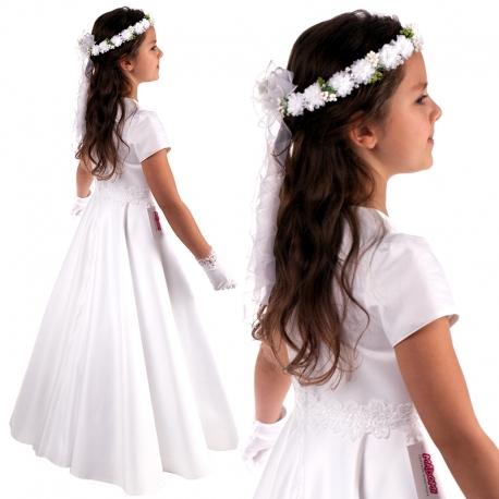 Sukienka komunijna alba Angelika 53BI