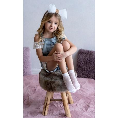 Skarpetki dziewczęce Kora 2pary SG52