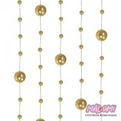 Girlandy perłowe o długości 1.3 m. 5 szt. GP24