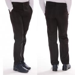 Spodnie wizytowe chłopięce czarne SPK01