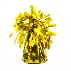 Ciężarek do balonów foliowy złoty CZ1-019