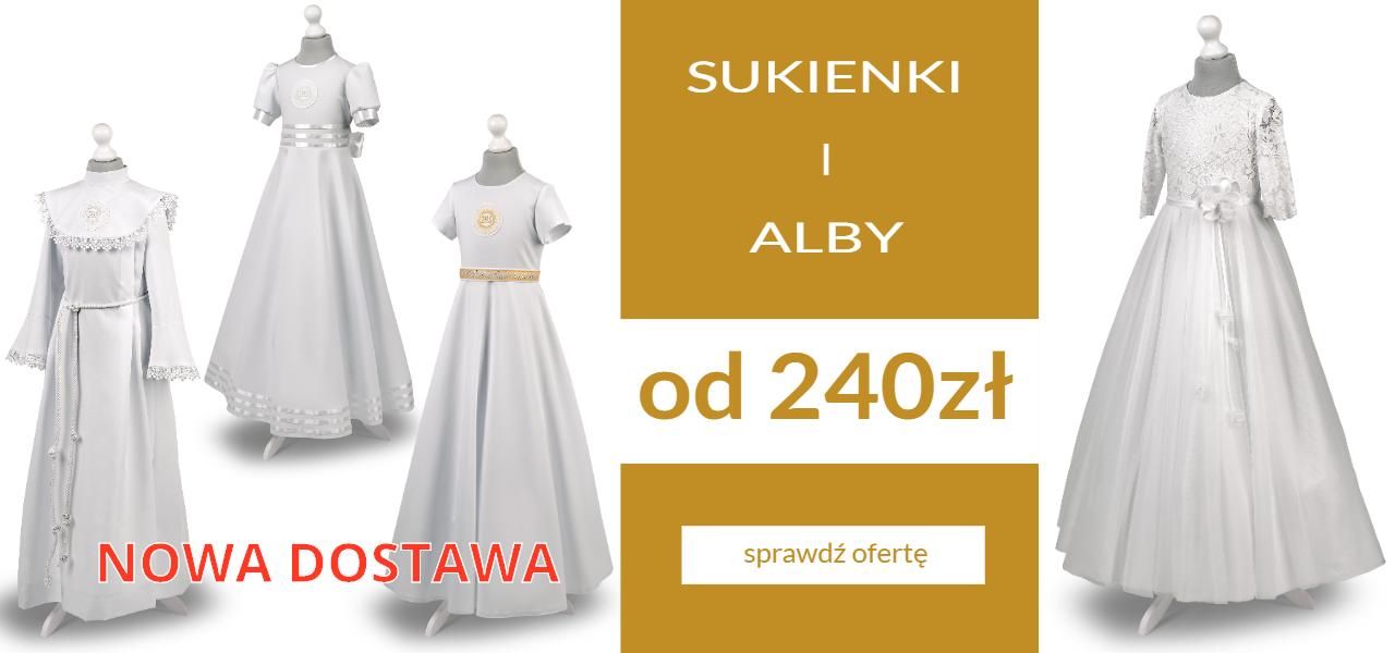 sukienki i alby komunijne